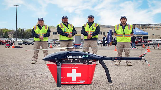 MissionGO & Minnesota Team Transports World's First Human Pancreas via Unmanned Aircraft