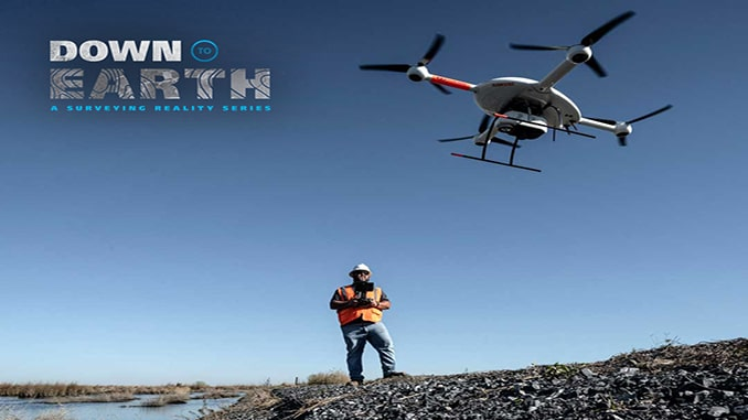 Drone lidar documentary show makes some waves in the Louisiana marsh