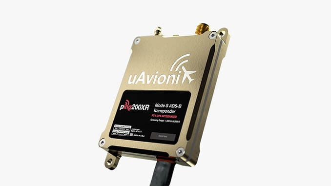 uAvionix adds ping200XR with Integrated GPS to Transponder Line-Up