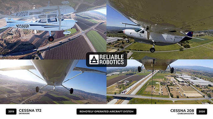 Reliable Robotics Selected by the Air Force Research Laboratory to Evaluate Autonomous Aircraft Capabilities for Government Missions