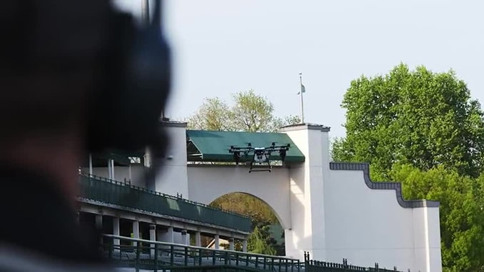 Pittsburgh-based AERAS sanitization drones powered by AER-Force make debut at Kentucky Derby