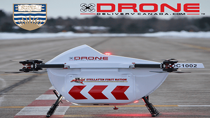 Drone Delivery Canada selected by UBC for remote communities drone transportation initiative