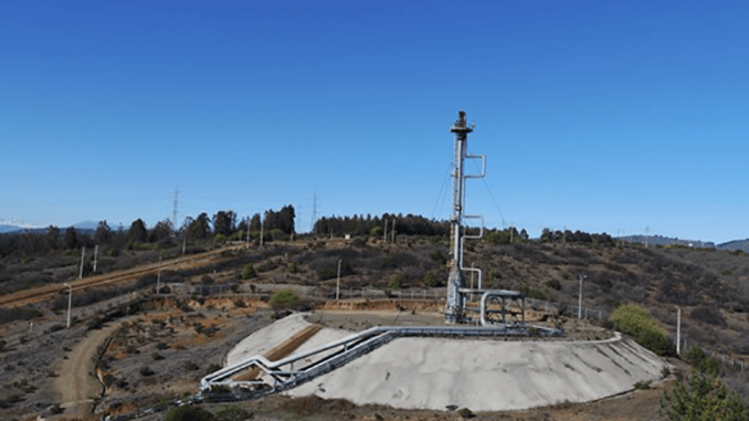 Terra Drone Conducts Flare Stack Inspection For State Energy Company ENAP