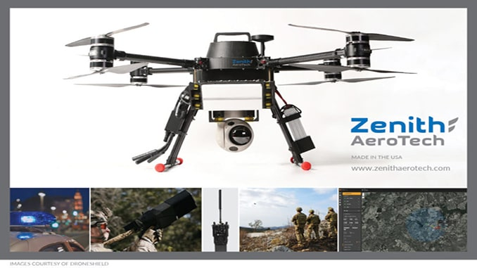 Zenith AeroTech to offer DroneShield counter-drone capabilities on tethered aerial vehicles