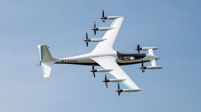USAF Agility Prime partners with Kitty Hawk in first medevac exercise with electric aircraft