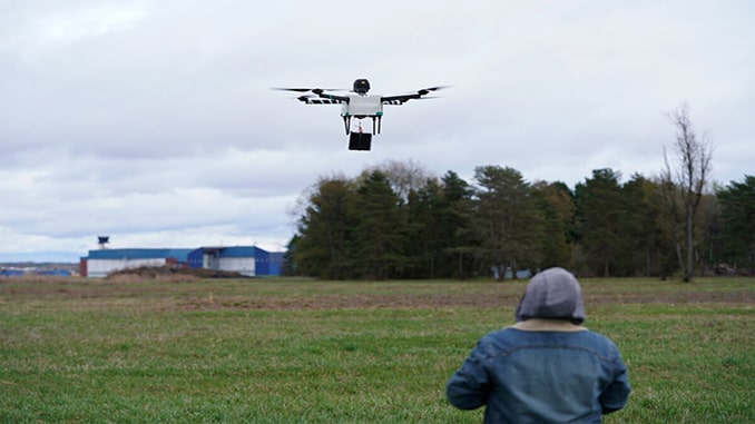 NUAIR and New York UAS Test Site lead path for safe drone operations over people with Workhorse and AVSS collaboration
