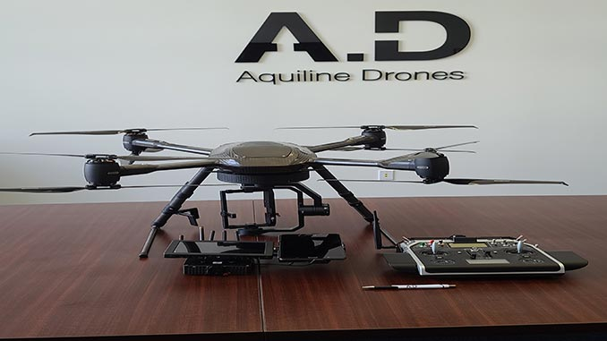 Aquiline Drones Buys 50% of Dutch-Based Aerialtronics for Global UAS Coverage