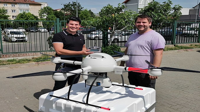 Black Light Joins the Microdrones Distributor Network to Provide Drone Surveying Equipment in Romania