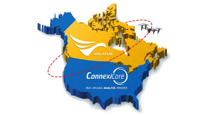 Volatus Aerospace Acquires ConnexiCore to Expand Drone Services Business into the US