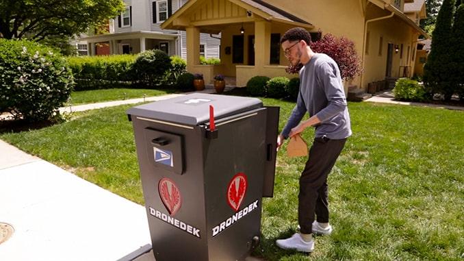 DRONEDEK Delivering on Promise of Smart Mailbox