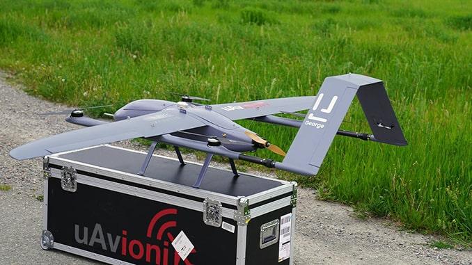 uAvionix Completes Milestone UAS VTOL Flight Demonstration using uAvionix Autopilot and C2 Network