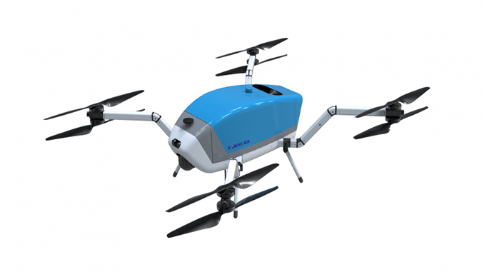 Korean Air to supply hybrid firefighting drones to first responders on Jeju Island