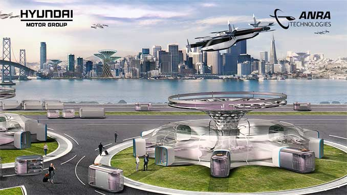 Hyundai and ANRA Technologies Launch Partnership to Develop Advanced Air Mobility Air Traffic Operating Environment