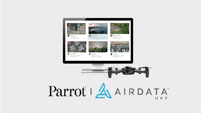 AirData and Parrot Integration and Partnership