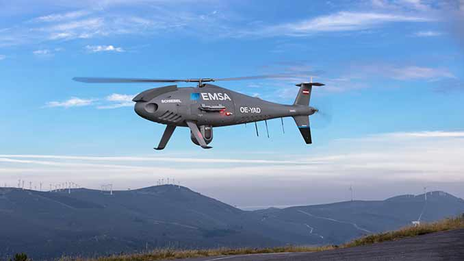 Schiebel Camcopter s-100 enhances maritime surveillance in Spain with EMSA