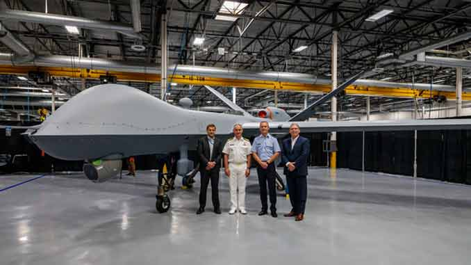 GA-ASI Completes First MQ-9A Block 5 for the Netherlands