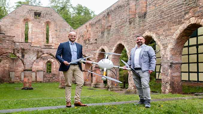 Hommel Vermessungssysteme Now Offers Drone Surveying Equipment from Microdrones