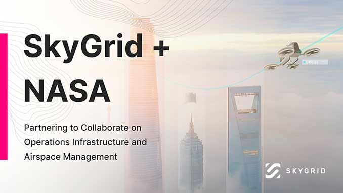SkyGrid Signs Space Act Agreement with NASA
