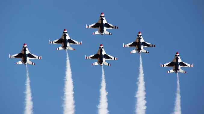 Thunder & Lightning Over Arizona AirShow & USAF Thunderbirds Coming to Davis-Monthan AFB Nov. 6 & 7