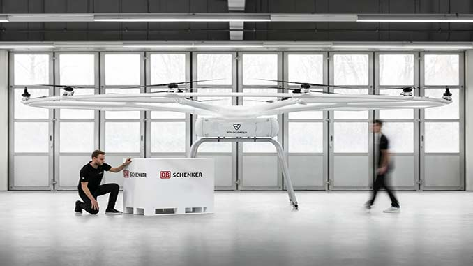 Volocopter and DB Schenker Announce First Blueprint for VoloDrone Operations