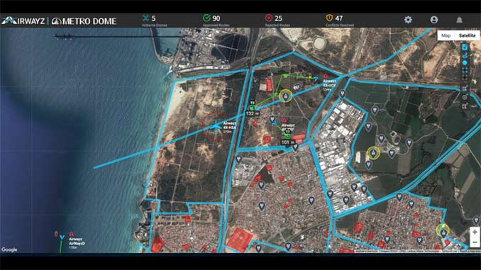 Airwayz returns as driving force behind expanded pilot to operate multiple drone fleets in an urban airspace