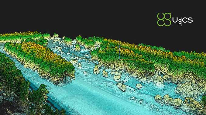 SPH Engineering announces the update of UgCS for UAV-based LIDAR