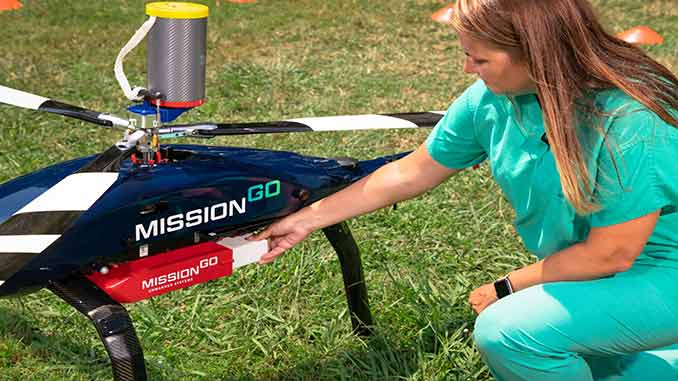 MissionGO and The Living Legacy Foundation of Maryland complete successful blood transport with UAS