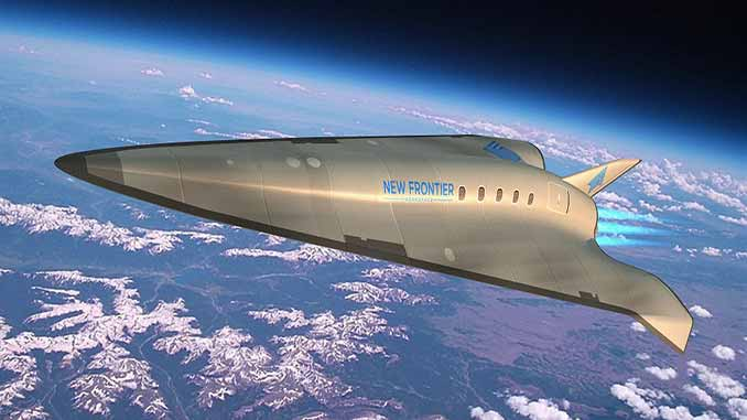 New Frontier Aerospace Awarded $750K Contract by DoD's National Security Innovation Capital