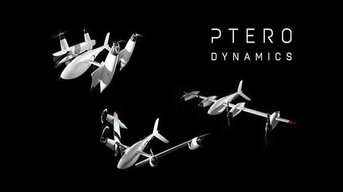 PteroDynamics Secures Contract with US Navy to Deliver Cargo VTOL Aircraft