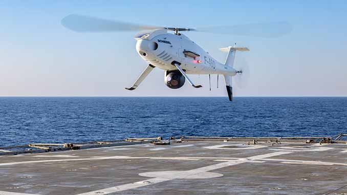 Schiebel Camcopter S-100 Completes Successful Trials For The Hellenic Navy