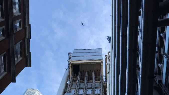 Congested Area OSC Enabled Lloyd's Of London Drone Inspection