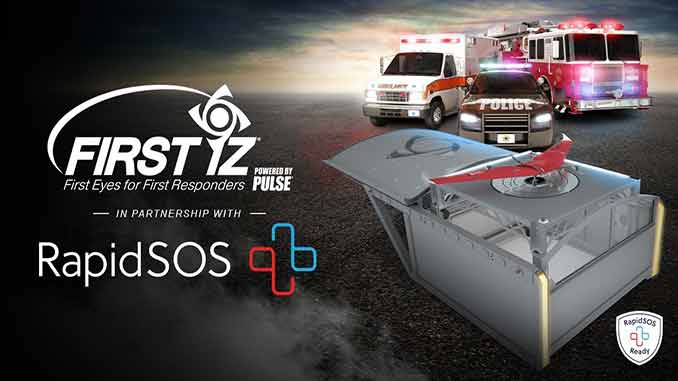 """FIRST iZ joins the RapidSOS Partner Network to Provide """"First Eyes"""" for Emergency Communication Centers"""