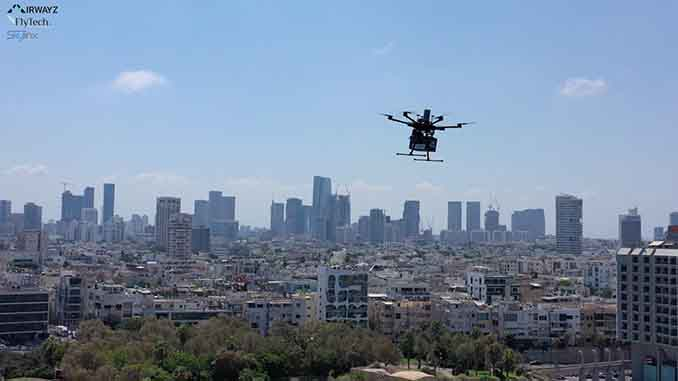 Nespresso Trials Drone Delivery in Pilot with Airwayz,SkylinX and FlytechIL