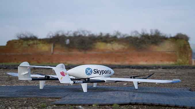Swoop Aero and Skyports Extend Drone Delivery Partnership