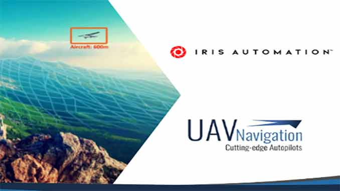 UAV Navigation integrates Iris Automation's proven Detect and Avoid System Casia with its VECTOR autopilots