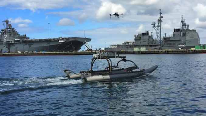 Marine Advanced Robotics and Planck Aerosystems Form Strategic Alliance