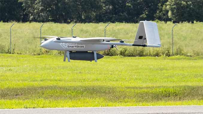 ANRA Demonstrates Complete Drone Delivery Solution