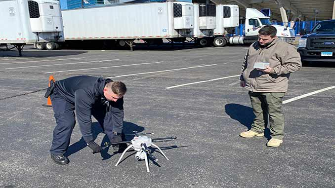 TSA assists Connecticut Air Guard with drone detection test