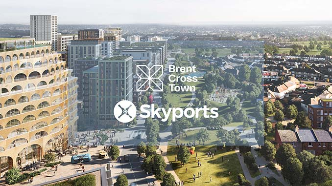Skyports and Brent Cross Town to enable advanced air mobility in London with new electric air taxi vertiport