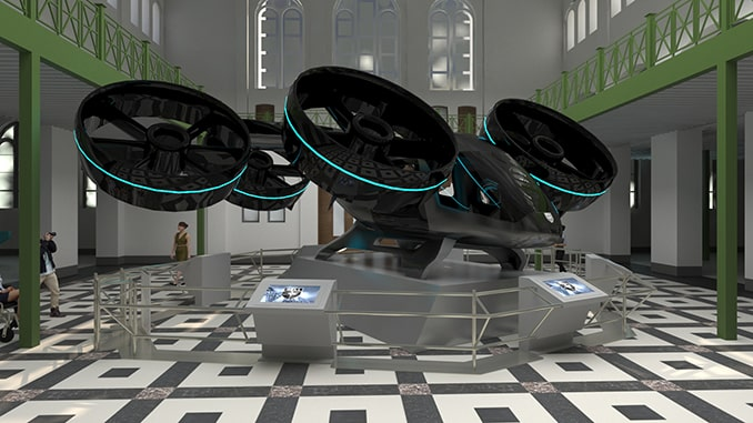 """Bell to Showcase Nexus Air Taxi and Iconic Innovations at Smithsonian """"FUTURES"""" Exhibition"""