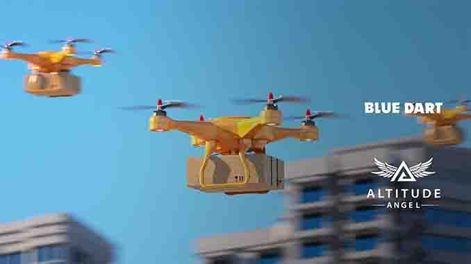Altitude Angel Selected as UTM Provider for Blue Dart India BVLOS Demonstration