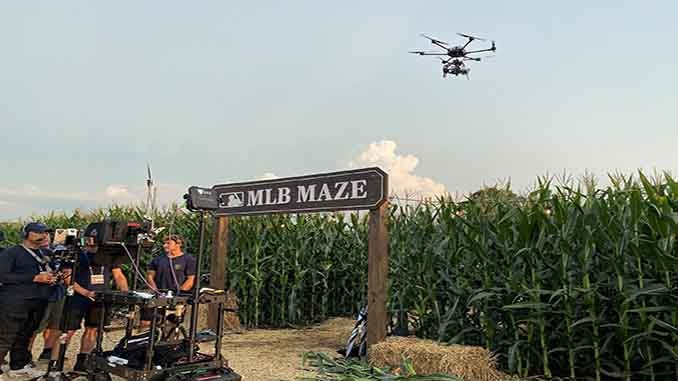 FOX Sports 'MLB at Field of Dreams' Broadcast Delivers Cinematic Viewer Experience with HDR 5G Live Drone Shots