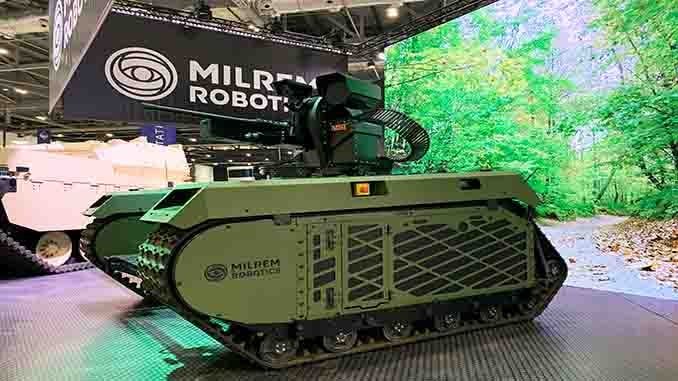 Milrem Robotics and MSI-Defence Systems Limited Present Unmanned Kinetic C-UAV Capabilities