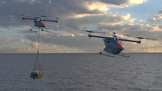 Kaman Unveils New Medium Lift UAV: the KARGO UAV