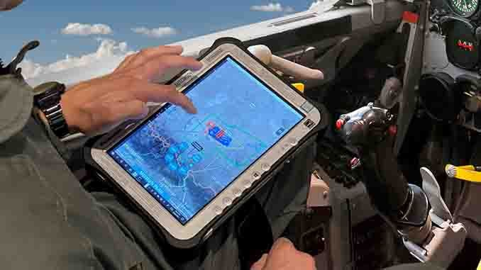 GA-ASI Demonstrates Airborne MUM-T Using MQ-20 Avenger