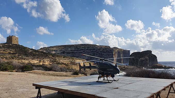 SwissDrones Concludes Flight Testing in Malta