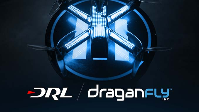 The Drone Racing League and Draganfly Launch Multi-Year Partnership and Innovation Lab
