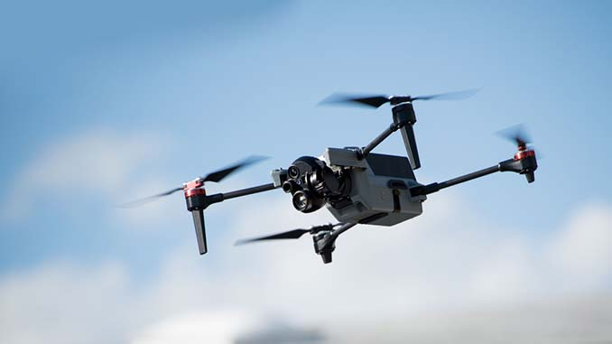 Teledyne FLIR launches ION M640x next-generation tactical quadcopter