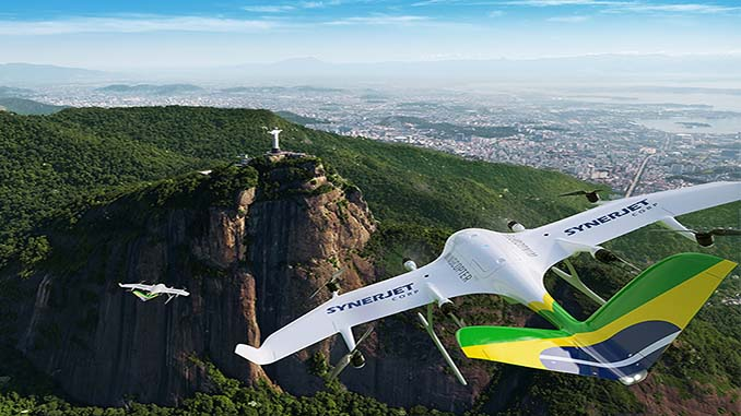 SYNERJET becomes first Wingcopter Authorized Partner in South America
