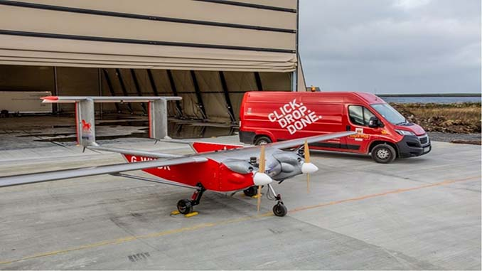 UK Royal Mail Trials Drone Deliveries to Remote Island